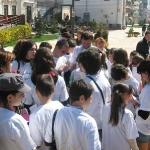 Impartim flori in centrul orasului Pitesti