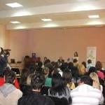 D-na Gabriela Cretu prezinta importanta participarii la votul din 7 iunie 2009