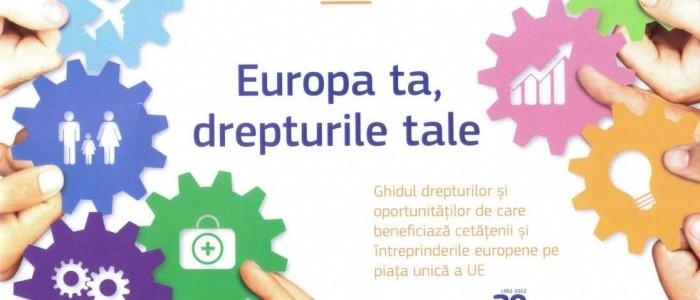 Europa ta, drepturile tale