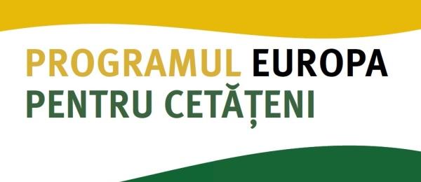 Programul Europa pentru cetăţeni