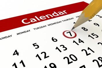 Evenimentele săptămânii 1 -7 mai 2017