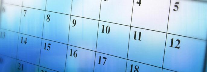 Evenimentele săptămânii 16 – 22 aprilie 2018