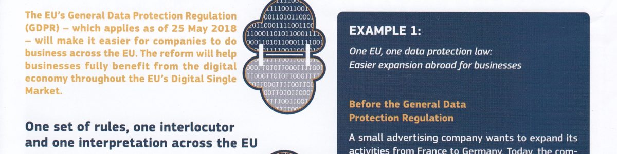Reforma protecției datelor în UE: norme mai bune pentru companiile europene