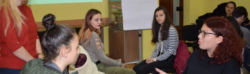 Ateliere de dezvoltare personală pentru tinerii argeșeni