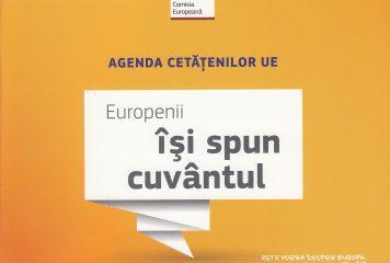Agenda cetățenilor UE – Europenii își spun cuvântul