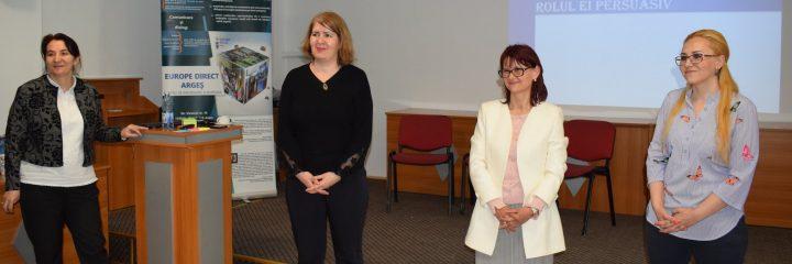 Europe Direct Argeș, prezent la seminarul național  Bibliotecile – spații publice europene
