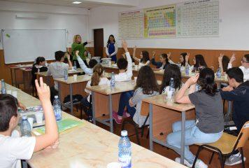 Lansarea competiției naționale Euro Quiz în Argeș