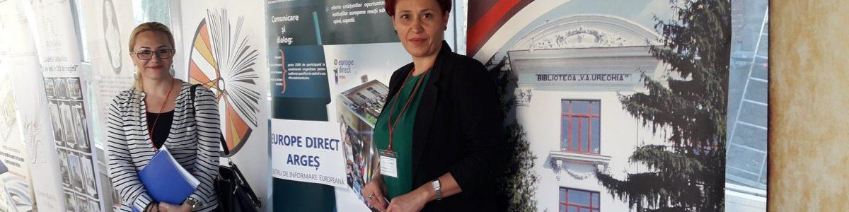 Europe Direct Argeș la Conferința Națională ANBPR