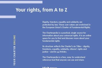 Charterpedia – Your rights, from A to Z