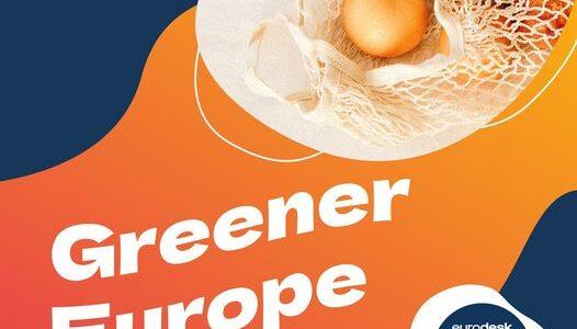 """Concurs """"Greener Europe"""""""